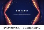 abstract background with a... | Shutterstock .eps vector #1338843842