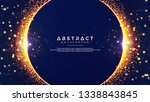 abstract background with a... | Shutterstock .eps vector #1338843845