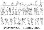 vector  on a white background ... | Shutterstock .eps vector #1338892808