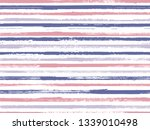hand drawn paint stripes fabric ... | Shutterstock .eps vector #1339010498