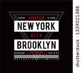 Typography Design New York Cit...