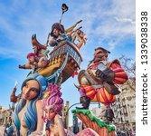 valencia  spain  march 14  2019.... | Shutterstock . vector #1339038338