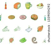 food images. background for... | Shutterstock .eps vector #1339054292