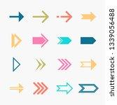 arrows vector collection | Shutterstock .eps vector #1339056488