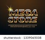 vector chic emblem mega store.... | Shutterstock .eps vector #1339065038