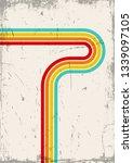 1970s background  vintage...   Shutterstock .eps vector #1339097105