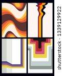 1970s backgrounds vintage...   Shutterstock .eps vector #1339129922