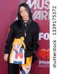 billie eilish at the 2019... | Shutterstock . vector #1339175372