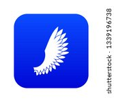 wing icon digital blue for any... | Shutterstock .eps vector #1339196738