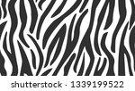 zebra. repeating widescreen... | Shutterstock .eps vector #1339199522