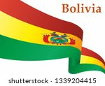 flag of bolivia  plurinational... | Shutterstock .eps vector #1339204415
