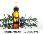 Essential Oil With Rosemary...