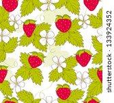 seamless scandinavian pattern... | Shutterstock .eps vector #133924352