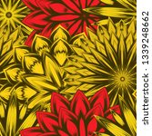 seamless floral background.... | Shutterstock .eps vector #1339248662