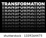 the word transformation in... | Shutterstock .eps vector #1339264475