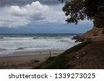 Coastline With A Sandy Beach....