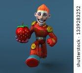 mexican hero   3d illustration   Shutterstock . vector #1339283252