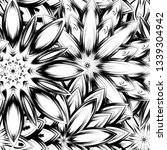 seamless floral background.... | Shutterstock .eps vector #1339304942