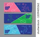 template sport layout design ... | Shutterstock .eps vector #1339405262