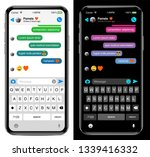 chat sms internet communicator... | Shutterstock .eps vector #1339416332
