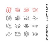vector illustration of 16... | Shutterstock .eps vector #1339455245