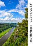 summer valley river top view....   Shutterstock . vector #1339472165