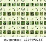 seamless vector geometrical... | Shutterstock .eps vector #1339490255
