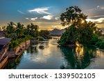 4000 Islands. Siphandon. Laos....