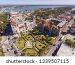 aerial view of lightner museum... | Shutterstock . vector #1339507115