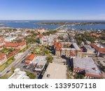 aerial view of lightner museum... | Shutterstock . vector #1339507118