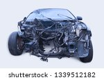 a car with serious damage after ...   Shutterstock . vector #1339512182