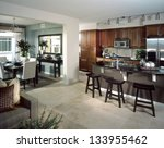 kitchen interior design | Shutterstock . vector #133955462