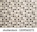 clean white wall from tile | Shutterstock . vector #1339563272