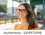 portrait of carefree young... | Shutterstock . vector #1339573298