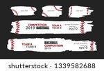 vector grunge baseball....   Shutterstock .eps vector #1339582688