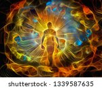 Spiritual Painting In Vivid...