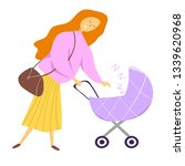 happy mother's day. happy... | Shutterstock .eps vector #1339620968