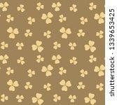 dark beige seamless pattern... | Shutterstock . vector #1339653425