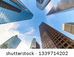 downtown los angeles...   Shutterstock . vector #1339714202