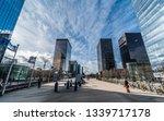 brussels  belgium   03 10 2019  ... | Shutterstock . vector #1339717178