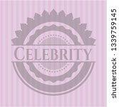celebrity pink emblem | Shutterstock .eps vector #1339759145