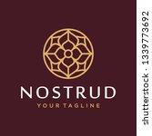 abstract flower swirl logo icon ...   Shutterstock .eps vector #1339773692