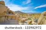 joshua tree valley   Shutterstock . vector #133982972