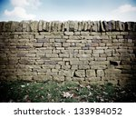 Dry Stone Wall With Fallen...