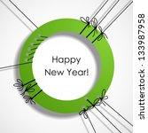 happy new year  eps10 | Shutterstock .eps vector #133987958