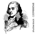 henry lee 1756 to 1818 he was... | Shutterstock .eps vector #1339888568