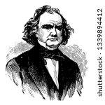 james murray mason 1798 to 1871 ... | Shutterstock .eps vector #1339894412