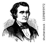 John Cabell Breckenridge 1821 to 1875 he was an American lawyer politician fourteenth and youngest to ever Vice President of the United States from 1857 to 1861 vintage