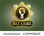 shiny emblem with business... | Shutterstock .eps vector #1339908605