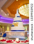 banquet wedding cake    Shutterstock . vector #1339933922